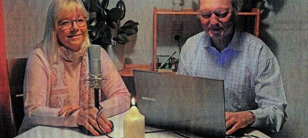 Dagmar Kolbe und Karl-Heinz Weirich vom Redaktionsteam